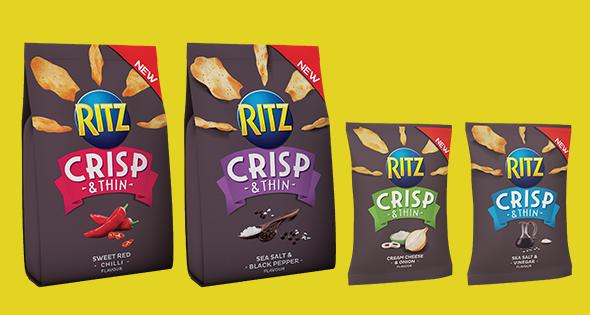 Ritz Crisp & Thin range
