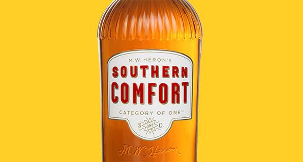 New look Southern Comfort