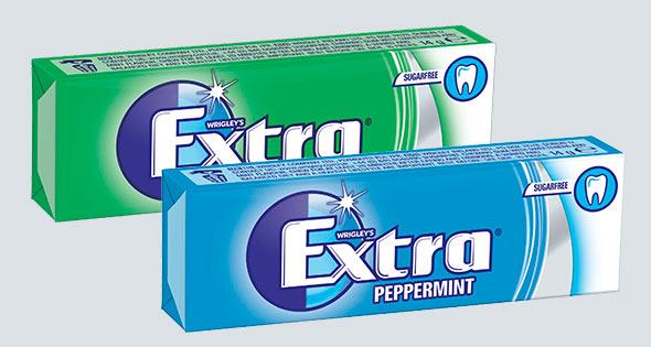 Wrigley's Extra sugarfree chewing gum
