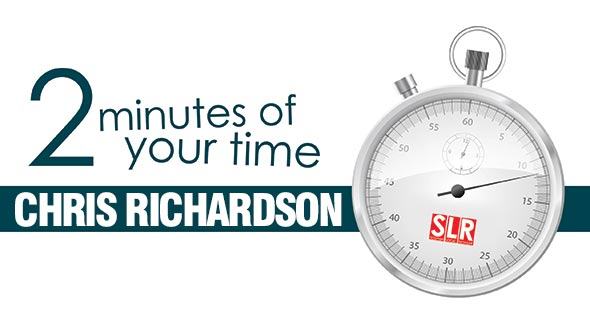 2 minutes of your time: Chris Richardson