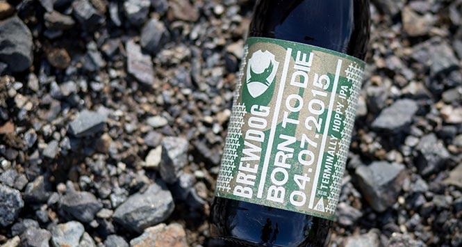 Bottle of Brewdog's Born to Die