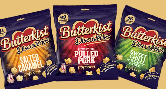 Butterkist Discoveries range
