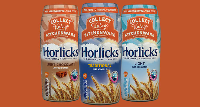 Jars of Horlicks