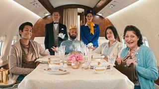Family 'celebrate like royalty' in Maynards ad