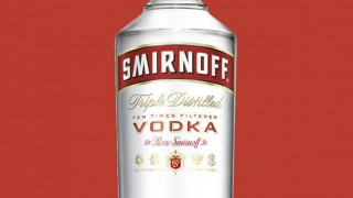 New look Smirnoff bottle