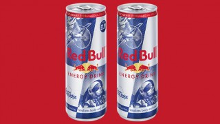 Red Bull Air Race promotional cans
