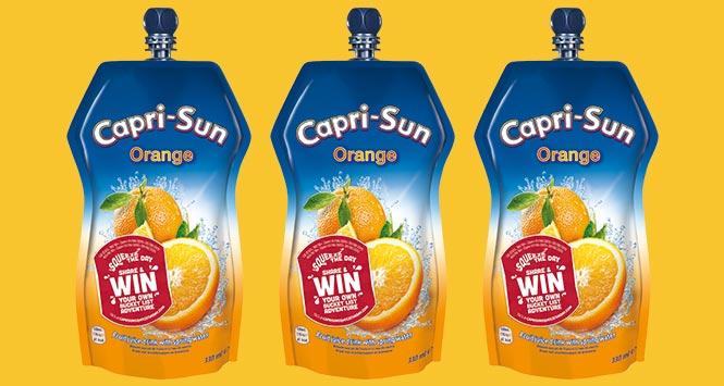 Capri-Sun orange pouch
