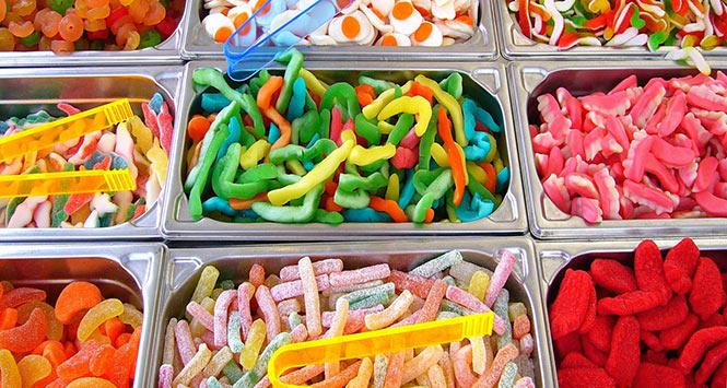 Pick 'n mix sweets