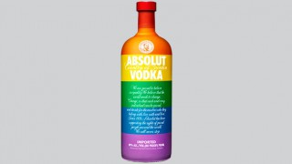 Absolut Colours bottle