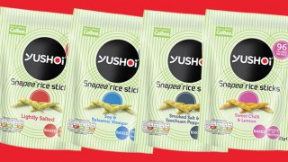 Yushoi Snapea rice sticks range
