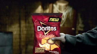 Sharing bag of Doritos Roulette