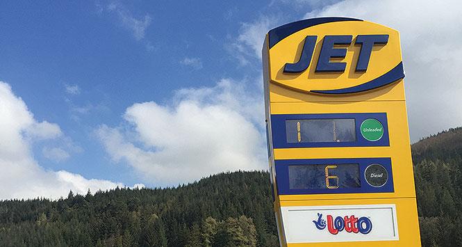 Jet sign