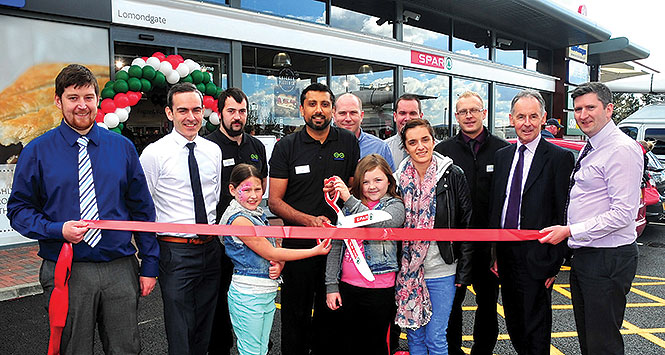 Grand opening of Lomondgate Service Station