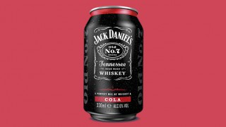 Jack Daniels Whiskey and Cola