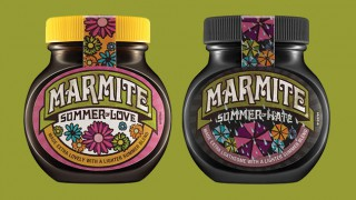 Marmite's Summer of Love/Summer of Hate Jars