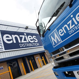 Menzies Distribution lorry