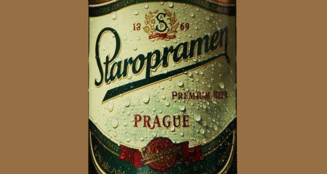 Staropramen label