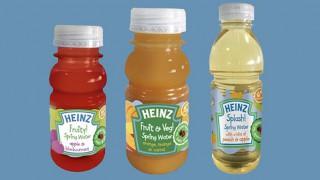 Heinz infant feeding range