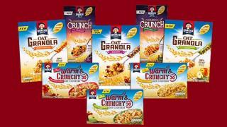 Quaker Oats' range of granola products