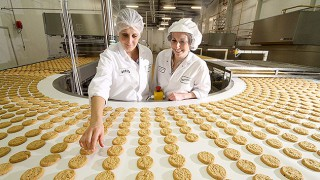 Border Biscuits production line