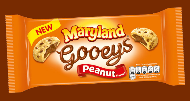 Maryland Gooeys Peanut pack shot