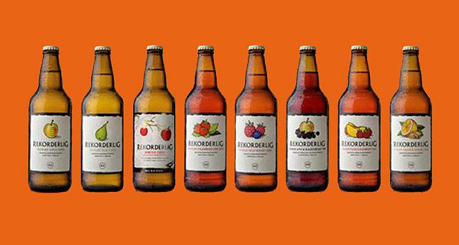 Rekorderlig Cider range