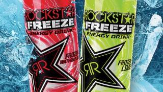 Cans of Rockstar Freeze