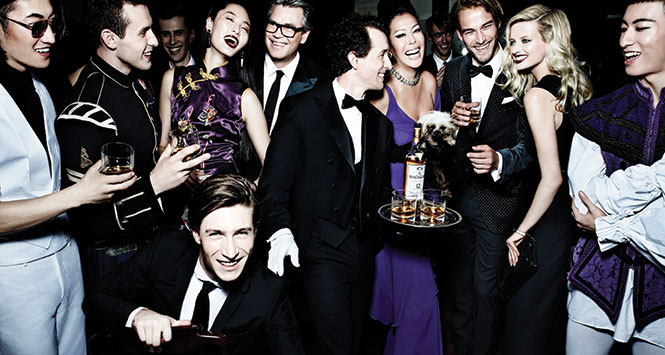 Happy drinkers