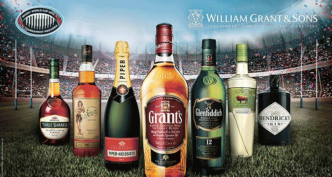 William Grant's drinks portfolio