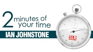 2 minutes of your time: Ian Johnstone
