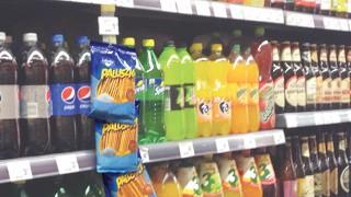 Polish convenience store interior