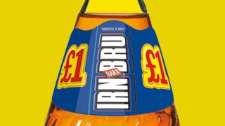 Bottle of Irn Bru