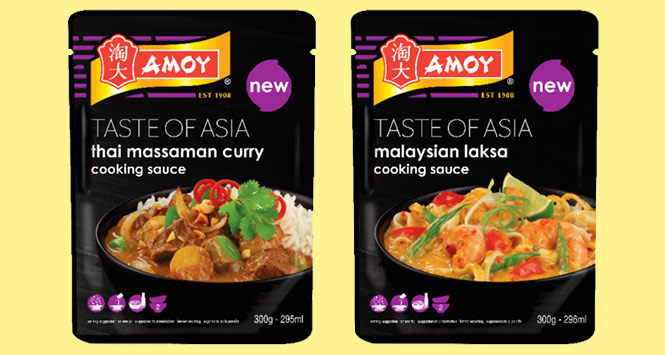 Amoy Taste of Asia cooking sauces