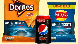 Walkers, Doritos and Pepsi Max #gameready promotional packs