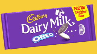 Dairy Milk Oreo bar