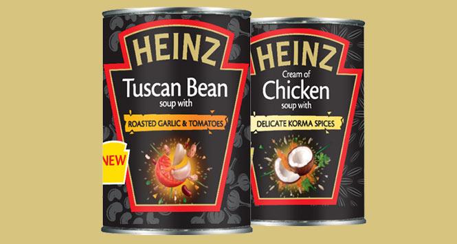 Heinz Black Label soups