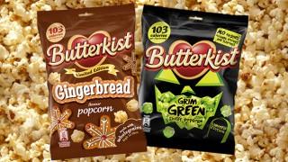 Butterkist Grim Green popcorn
