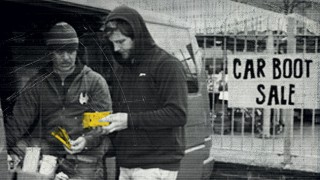 Illicit tobacco changing hands at car boot sale