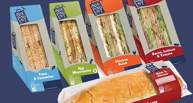 Independent sandwich range
