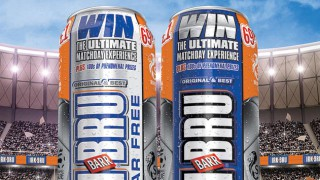 Cans of Irn-Bru