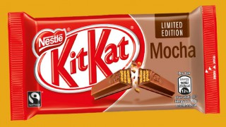 KitKat Mocha limited edition bar