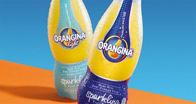 Orangina bottles