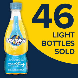 46 Light bottles sold