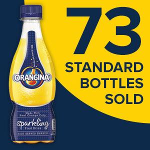 73 Standard bottles sold