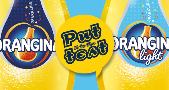 Put it to the test: Orangina