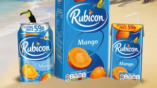 Rubicon exotic juice drink