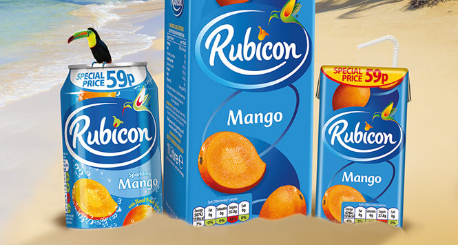Rubicon exotic juice drink
