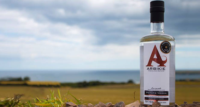 Arbikie vodka