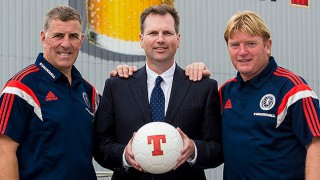 Tennent's-branded football