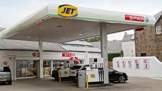 Jet Maybole forecourt